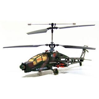 Apache AH 64 Feral Beast 4 channel RC Helicopter