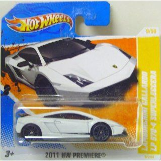 Hot Wheels Lamborghini Gallardo LP 570 4 Superleggera in weiß
