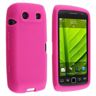 BasAcc Hot Pink Silicone Skin Case for BlackBerry Torch 9850/ 9860