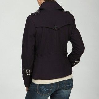 Mac & Jac Womens Dark Purple Peacoat