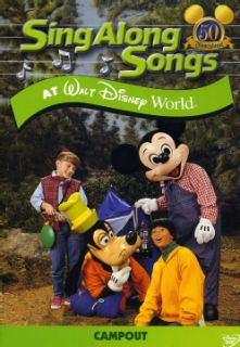 Sing Along Songs Campout At Walt Disney World (DVD)