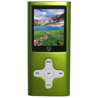 Visual Land 4GB Green MP3 Player/ Video/ FM Radio