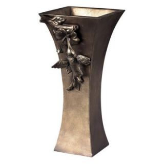 Sterling 10H in. Humming Bird Vase   Table Vases