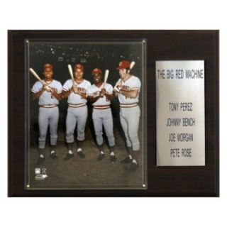 MLB 12 x 15 in. Rose Bench Morgan Perez Cincinnati Reds Player Plaque