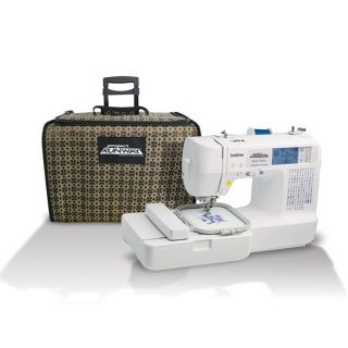 Brother LB6800PRW Project Runway Sewing and Embroidery Machine with