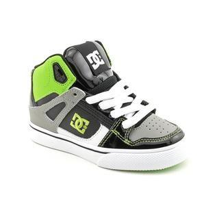 DC Boys Spartan Hi Leather Athletic Shoe