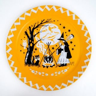 One Hundred 80 Degrees Halloween Tray   18 in.