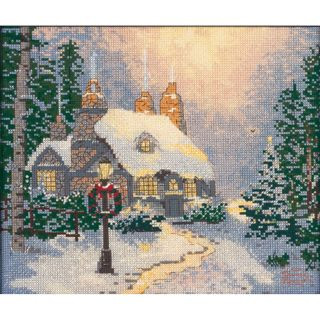 Thomas Kinkade Stonehearth Hutch Counted Cross Stitch Kit Today: $17