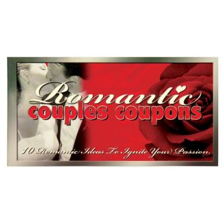 Romantic Couples 10 coupon Coupon Books (Pack of 10)