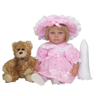 Me and Molly P. 13 inch Easter Lilly Doll and Bear Toy