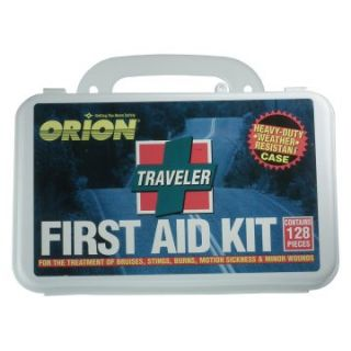 Orion Traveler First Aid Kit   128 Pieces   First Aid Kits at