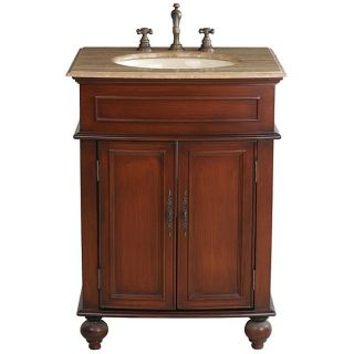 Stufurhome Prince Single sink 26 inch Vanity