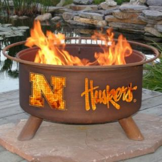 Patina 31 in. College Fire Pit   Wood Burning Fire Pits