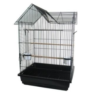 in. Bar Spacing Villa Top Parrot Cage   Bird Cages