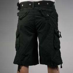 Laguna Beach Jean Company Mens Hermosa Beach Black Belted Cargo