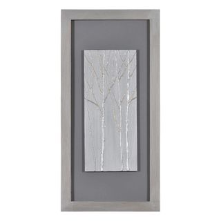 Patrick St. Germain Silver Forest II Hand Painted Canvas