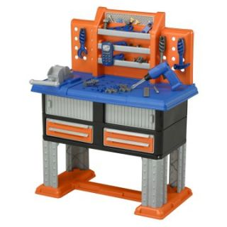 American Plastic Toys 38 Piece Deluxe Workbench   Activity Tables at