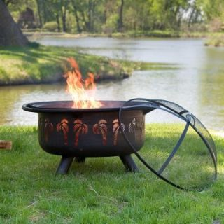 Oasis Rubbed Bronze Fire Pit   Wood Burning Fire Pits