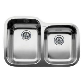 Blanco Supreme MicroEdge 1 and 3/4 Bowl Kitchen Sink   Kitchen Sinks