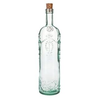 Global Amici Cordoba Recycled Glass Bottle   Set of 2   Oil & Vinegar