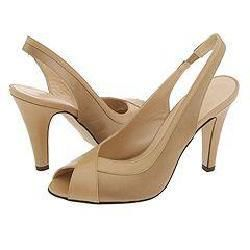 Lumiani Siena Taupe Satin/Taupe Kid Pumps/Heels