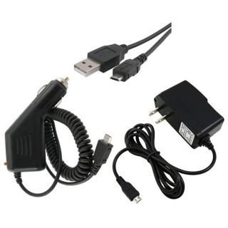 piece USB Cable/ Car and Travel Charger for Samsung M920 Transform