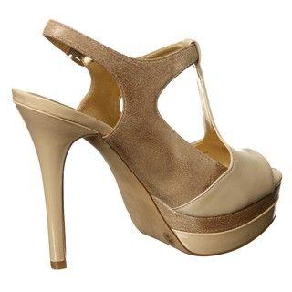 Jessica Simpson Womens Elso T strap Platform Heels