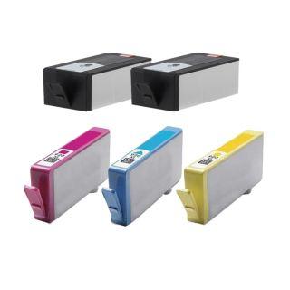 Hewlett Packard HP 920XL Black /Color ink Cartridges (Pack of 5