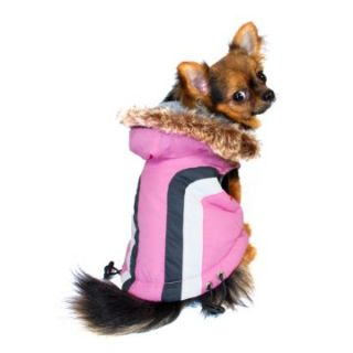 Hip Doggie Swiss Alpine Ski Vest   Pink   Dog Coats and Jackets at