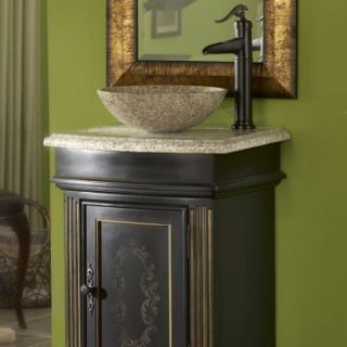 Kaco Gold Hill Granite Round Vessel Sink   Bathroom Sinks