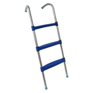 42 in. 3 Step Trampoline Ladder   Blue   Trampoline Accessories at