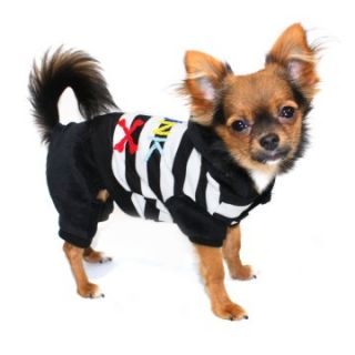 Hip Doggie Striped Punk Jumper   Dog Costumes