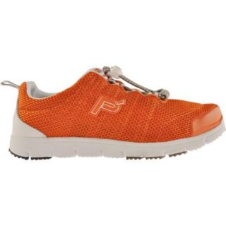 Womens Propet Travel Walker Orange/White
