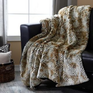 Signature Series Oversized Cheetah Throw   Blankets