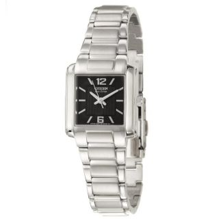 Citizen Womens Eco Drive Stainless Steel Quartz Watch