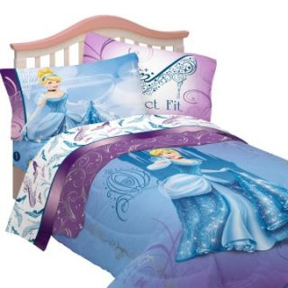 Disney Cinderella Perfect Fit Twin Bedding Set   Girls Bedding at