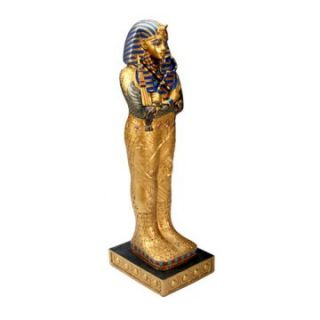 YTC Summit 6.25H in. Large Egyptian Coffin Of King Tut   Sculptures