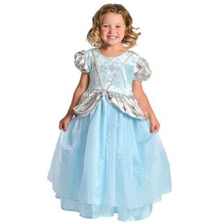 Little Adventures Childrens Deluxe Cinderella Costume (Small