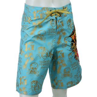 Ed Hardy Mens Man Tiger Board Shorts