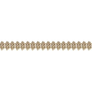 Ornamental Gold Edgings Trim (18 Yards)