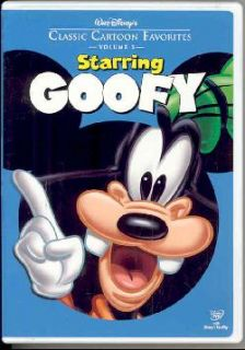Walt Disneys Classic Cartoon Favorites Vol. 3: Starring Goofy (DVD