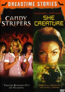 She Creature/Candy Stripers (DVD) Today: $11.18