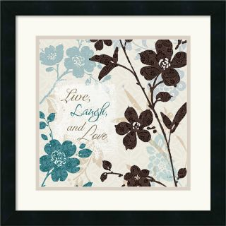Lisa Audit Botanical Touch Quote II Framed Art Print Today: $94.99