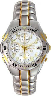 Bulova Marine Star Mens Two tone Chronograph Watch