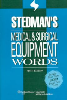 Medical & Surgical Equipment Words (Paperback)