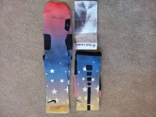Nike Elite Socks 2012 Olympic Dark Size Large