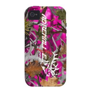 Adrenaline Pursuit Camouflage Pink Elk Case iPhone 4/4S Cases