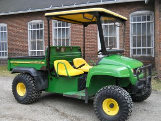 2007 JOHN DEERE TS GATOR KAWASAKI GAS ENGINE FARM UTILITY VEHICLE NO