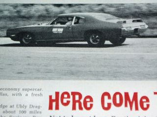 GTO Judge Road Test 400 V8 Engine HP Torque 1 4 Mile 0 60 Specs
