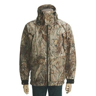 Browning Maxus HMX Waterfowl Jacket   Waterproof (For Men)   Save 36%